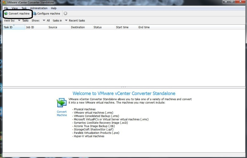 Vmware Vcenter Standalone Converter(vm to vm copy)  (1/3)